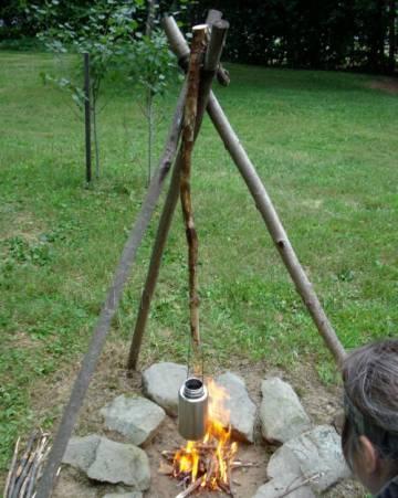 Fire Tripod
