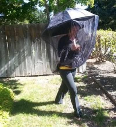 Mosquito Net for Umbrella