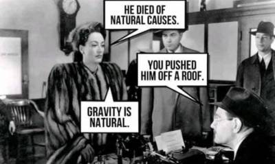 He Died of Natural Causes