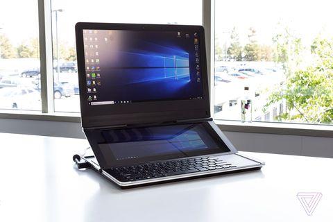 Intel Concept Laptop